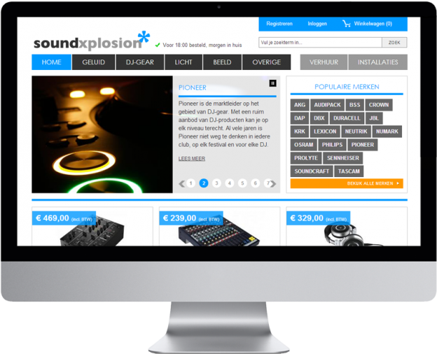 Vanity Tracy - Soundxplosion E-commerce Webshop